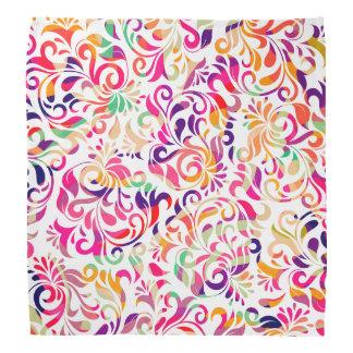 Bandana Modelo de flores colorido clásico lindo
