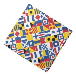 Bandana Modelo de las banderas de señal náutica