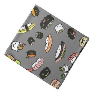 Bandana Modelo de los caracteres del sushi