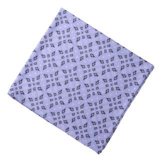 Bandana Modelo de mosaico retro púrpura