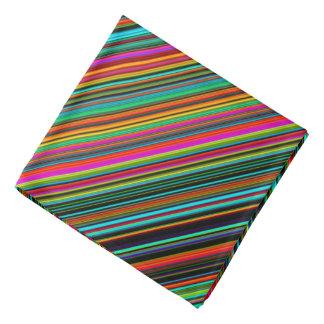 Bandana Modelo multicolor colorido hermoso de la raya