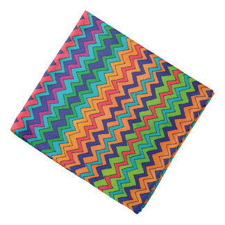 Bandana Modelo multicolor de Chevron