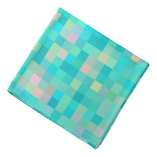 Bandana Modelo multicolor del arte del pixel