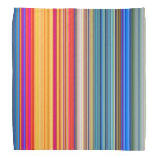 Bandana Modelo rayado multicolor