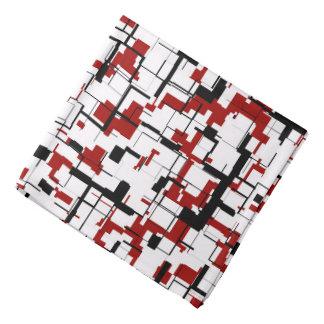 Bandana Modelo rojo blanco negro de Digitaces Camo