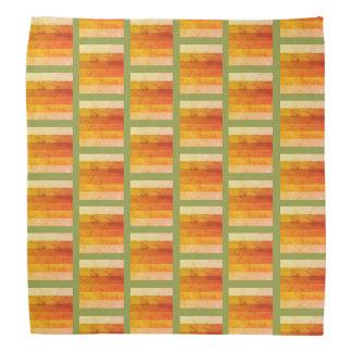 Bandana Modelo rústico del color del otoño