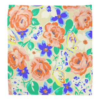 Bandana Modelos coloridos lindos de los rosas de las