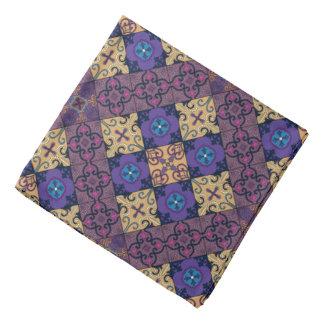 Bandana Ornamento de Talavera del mosaico del vintage