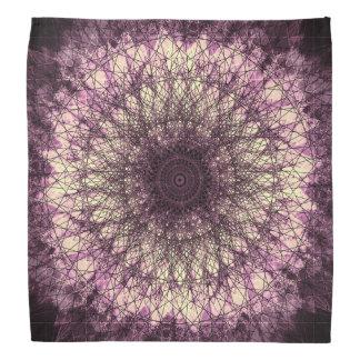 Bandana Purple Mandala