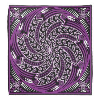 Bandana Púrpura del alcohol del viento