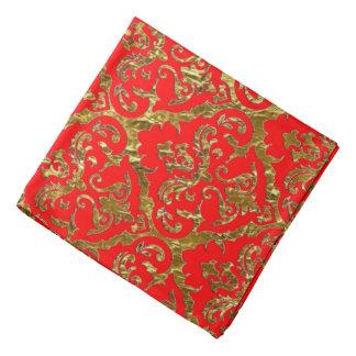Bandana Rojo de la impresión del lux de Flyology