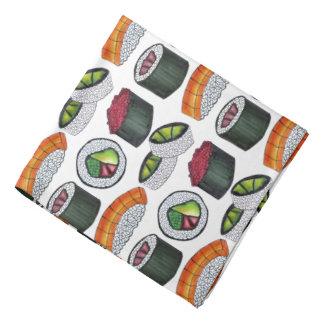Bandana Rollo japonés de California del sushi de Foodie de