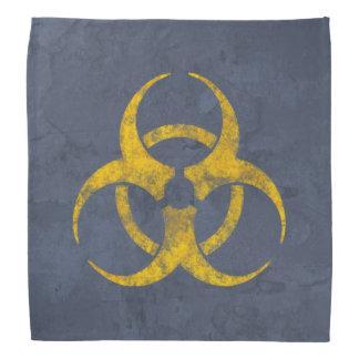 Bandana Símbolo apenado del Biohazard