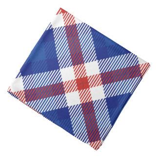 Bandana Tela escocesa patriótica 2