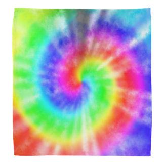 Bandana Teñido anudado del arco iris
