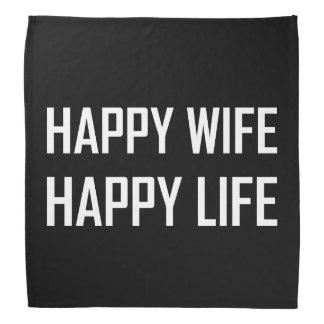 Bandana Vida feliz de la esposa feliz