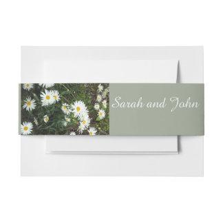 Bandas florales del Belly del boda del tema de la Cintas Para Invitaciones