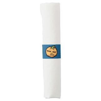 Bandas malhumoradas de la servilleta de Halloween