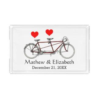 Bandejas de boda en Zazzle.
