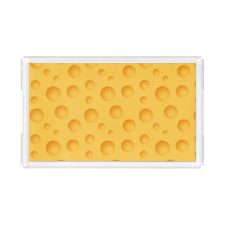 Bandeja Acrílica Modelo amarillo del queso