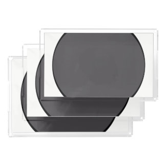 Bandeja Acrílica Punto gris oscuro