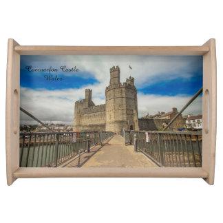 Bandeja Castillo País de Gales de Caernarfon
