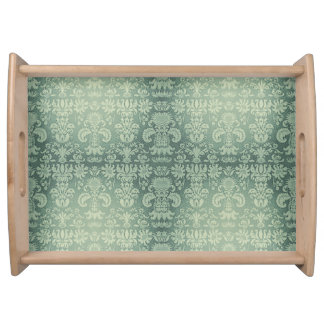 Bandeja Celery-Green* - Damask-Small_Multi-Functional_