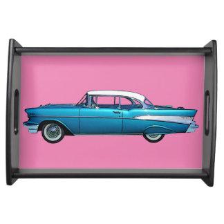 Bandeja clásica 1957 de la porción de Chevy