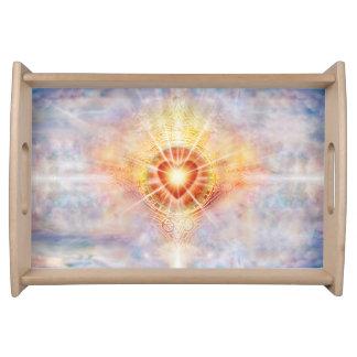 Bandeja Corazón celestial H038