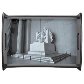Bandeja El Lincoln memorial en Washington DC
