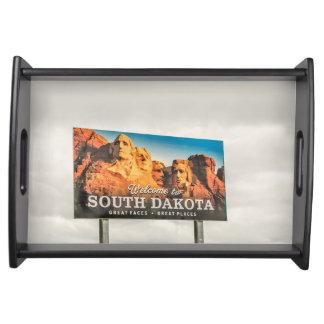 Bandeja El nuevo signo positivo de Dakota del Sur