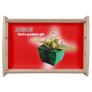 Bandeja El regalo más grande de dios