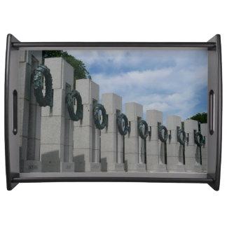 Bandeja Guirnaldas conmemorativas de la Segunda Guerra