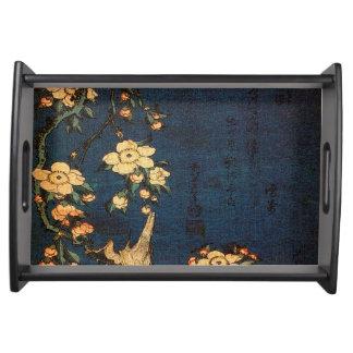 Bandeja Impresión tradicional del papel japonés del