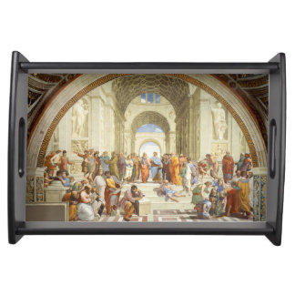 Bandeja Raphael - La escuela de Atenas 1511
