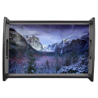 Bandeja Yosemite en invierno