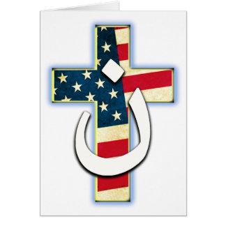Bandera #1 del Nazarene Tarjeta De Felicitación