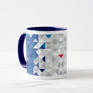 Bandera abstracta de Francia, taza francesa de los