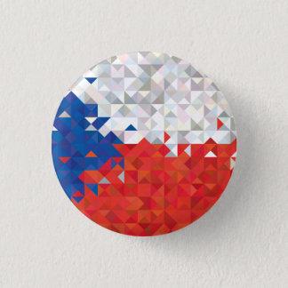 Bandera abstracta de la República Checa, botón