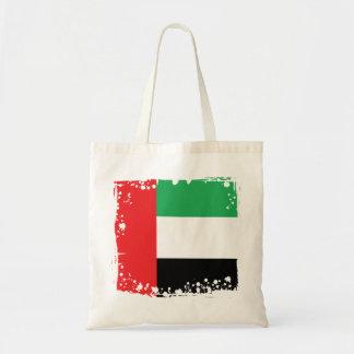 Bandera abstracta de los UAE, bolso de United Arab