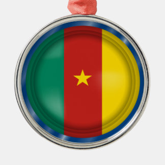 Bandera abstracta del Camerún, ornamento del