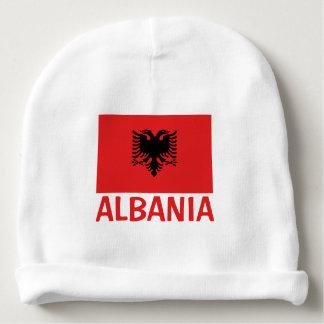 Bandera albanesa gorrito para bebe