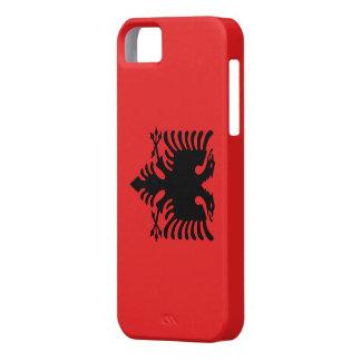 Bandera Albania - Funda Carcasa iPhone 5 5S iPhone 5 Case-Mate Protectores