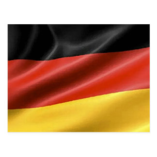 Bandera alemana postal