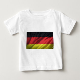 bandera-Alemania Camiseta De Bebé