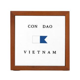 Bandera alfa de la zambullida de Dao Vietnam de la