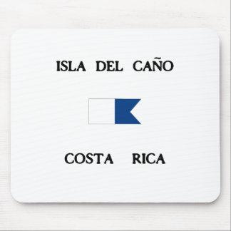 Bandera alfa de la zambullida de Isla del Caño Alfombrilla De Ratón