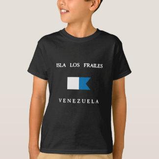 Bandera alfa de la zambullida de Isla Los Frailes Camiseta