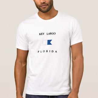 Bandera alfa de la zambullida de la Florida del La