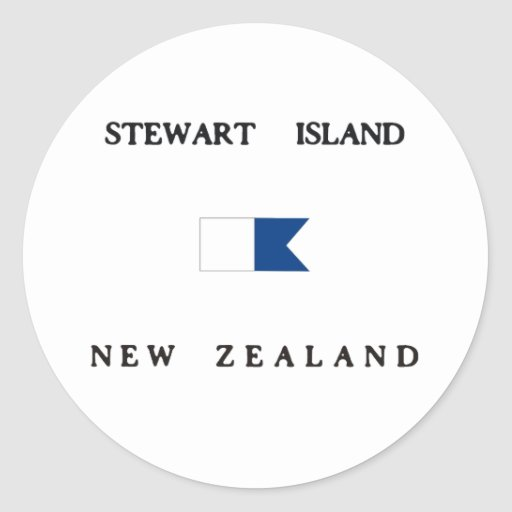 Bandera alfa de la zambullida de Nueva Zelanda de Pegatinas